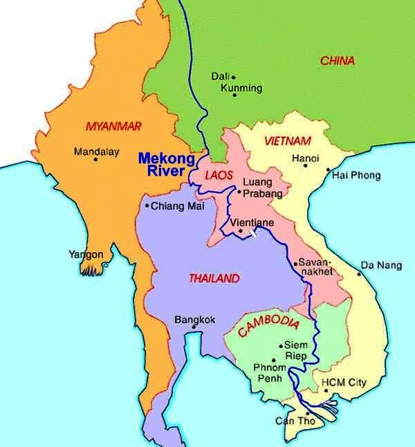 The recent murder of 13 Chinese sailors on South-East Asia's Mekong ...