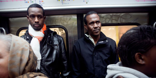 The two Somalis Acquitted of piracy on a subway in Paris - Le Monde