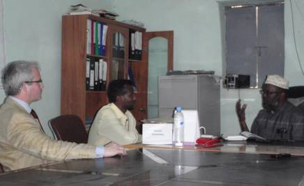 Meeting with Puntland Attorney General - Courtesy of David Hammond