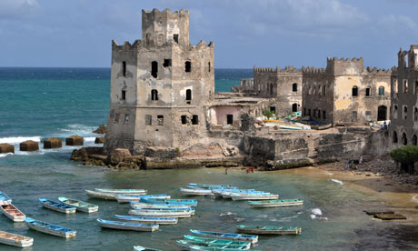 A view of Mogadishu's Old Town - Courtesy of Clar Ni Changhaile - The Guardian